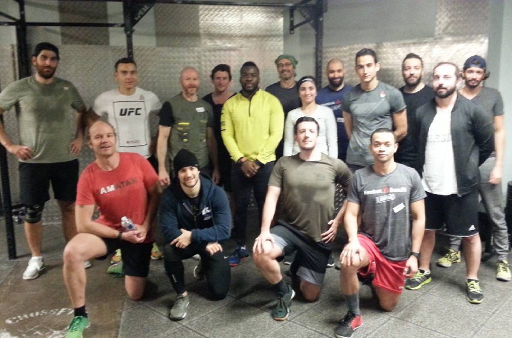 Representing crossfitamatak at reebokcrossfitlouvre! Working out in French! WOD 4RFThellip